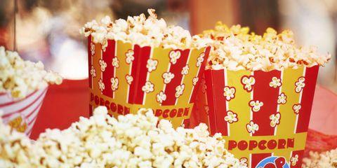 Yellow, Kettle corn, Popcorn, Font, Petal, Cut flowers, Decoration, Floristry, Floral design,