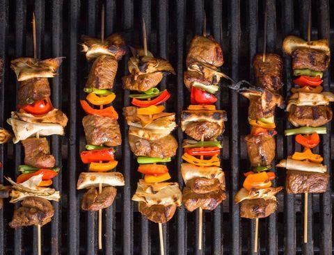 steak fajita skewers