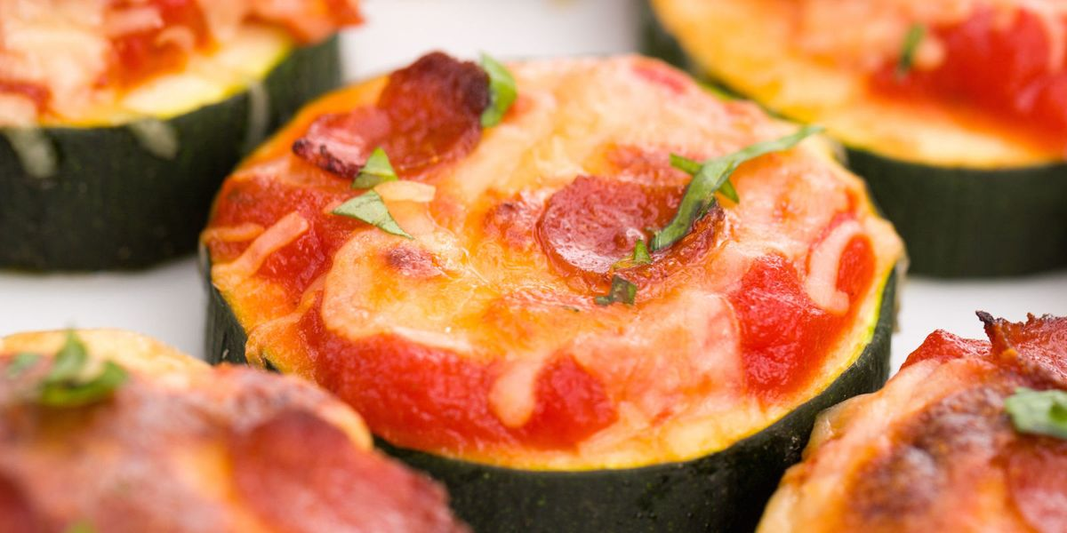 How To Make Zucchini Pizza Bites