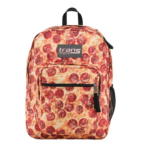 Pizza Backpack for Back-to-School