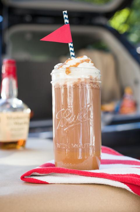 Boozy Buckeye Spiked Hot Chocolate