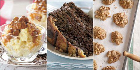 Food, Cuisine, Dessert, Dish, Baked goods, Ingredient, Cake, Tableware, Sweetness, Recipe,
