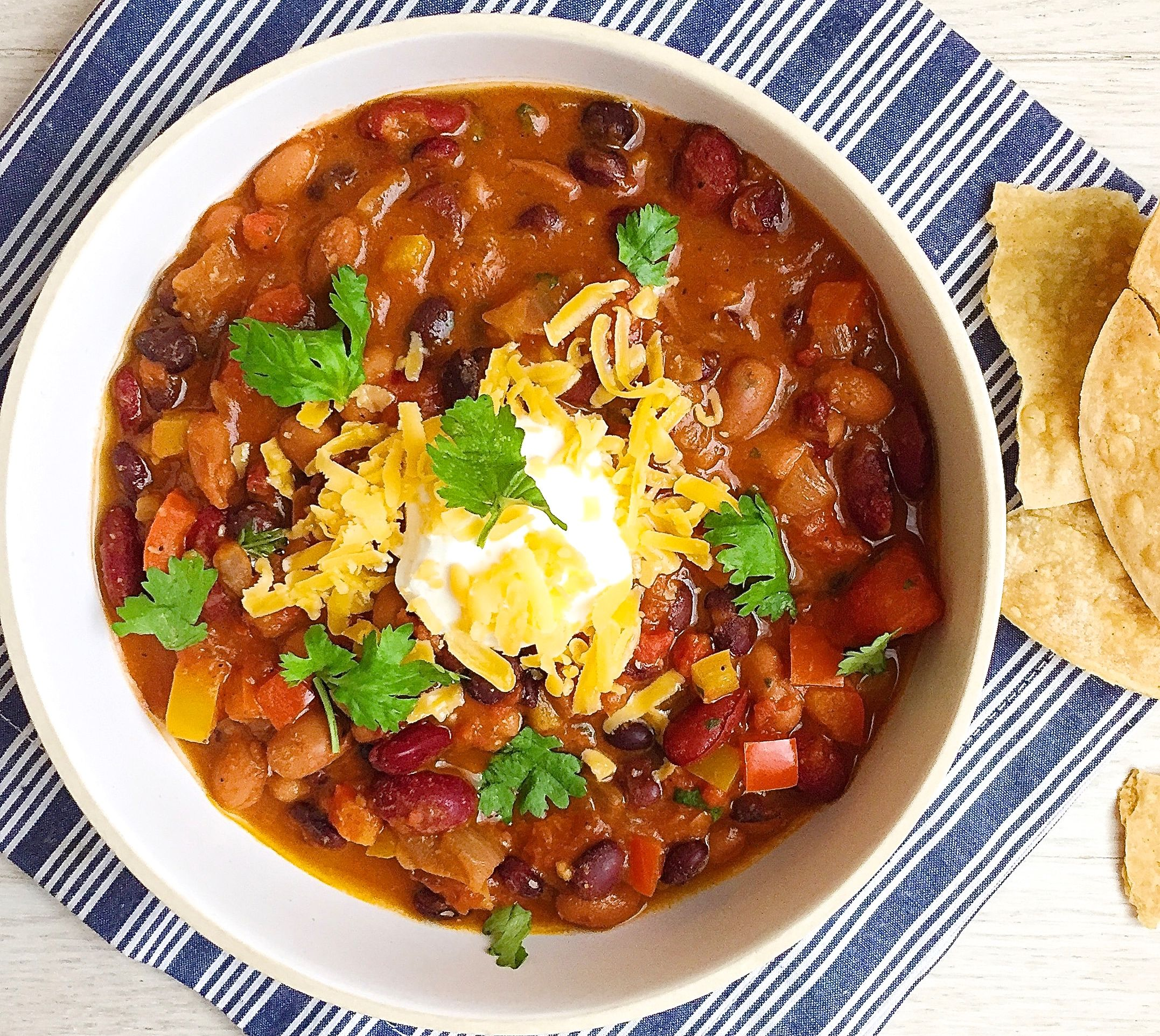 Chili Con Carne Brigitte 27 hearty vegetarian meals fall vegetarian recipe ideas delish com