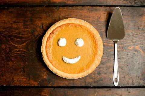 Pumpkin Pie Smile