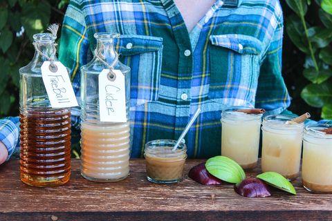 Fireball Cider and Caramel Cocktail Bar