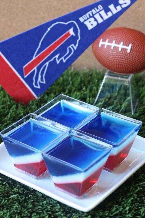 Buffalo Bills Jell-O Shots