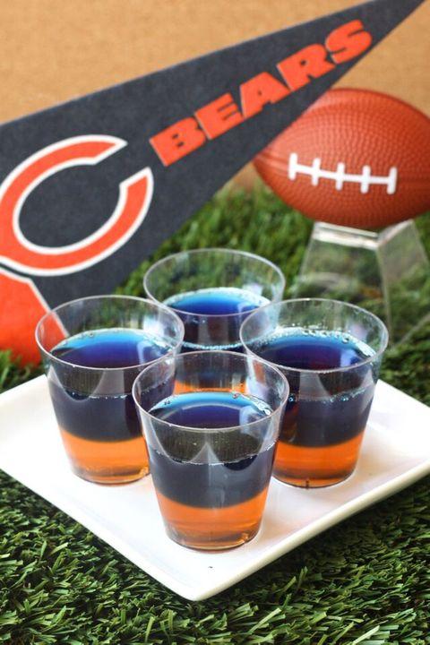 Chicago Bears Jell-O Shots