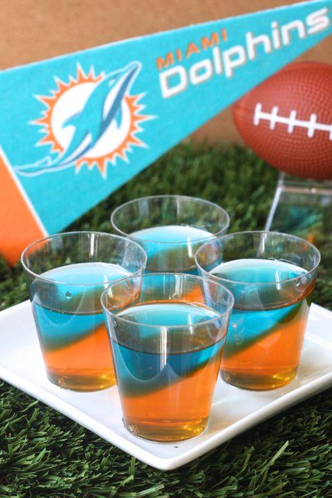 Miami Dolphins Jell-O Shots