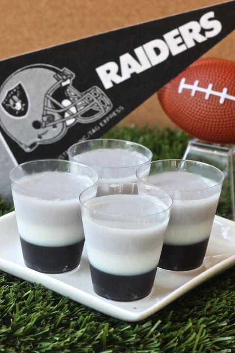 Oakland Raiders Jell-O Shots