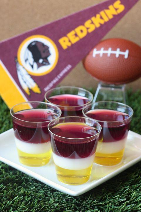 Washington Redskins Jell-O Shots