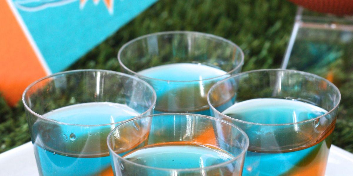 Best Miami Dolphins Jell O Shots Recipe How To Make Miami