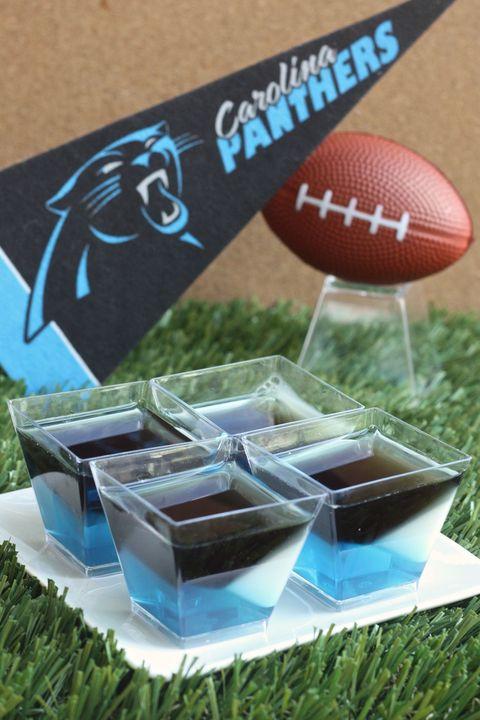 Carolina Panthers Jell-O Shots
