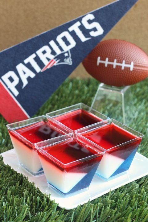 Patriots Jello Shots
