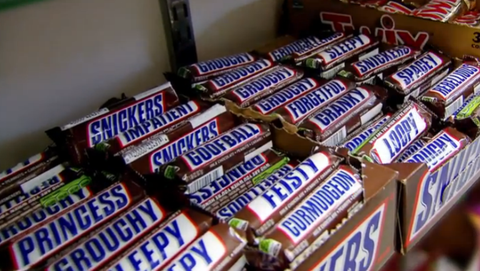 Snickers Hunger Bars