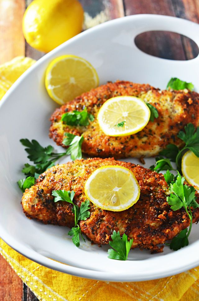 Breaded Baked Chicken Recipes Panko