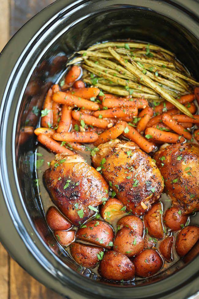 20 Healthy Slow Cooker Recipes Easy Crock Pot Recipe Ideas