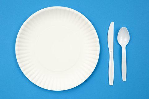 Blue, Dishware, White, Cutlery, Tableware, Serveware, Kitchen utensil, Plate, Azure, Aqua,