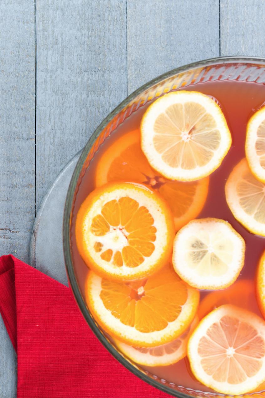 Fizzy Cran-Orange Punch