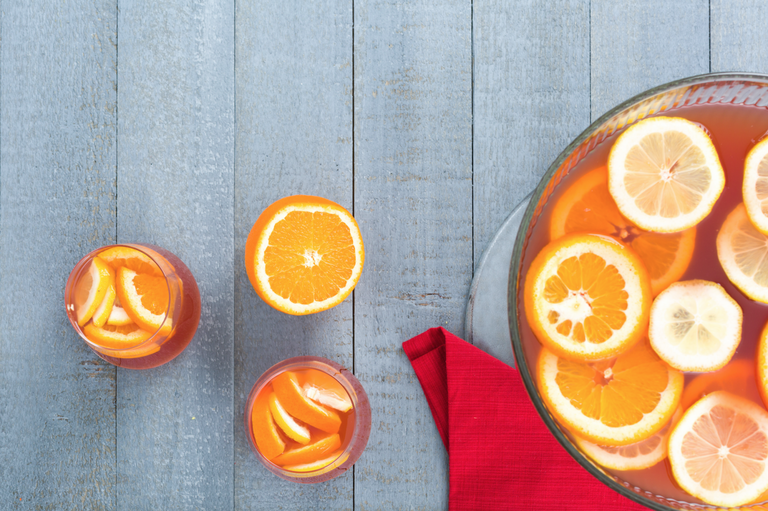 recipe: cranberry orange vodka punch [4]