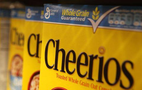 Boxes of Cheerios