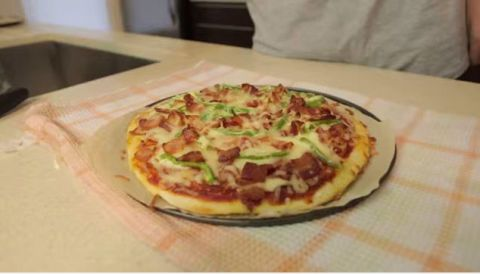 Food, Cuisine, Pizza, Plate, Dish, Baked goods, Finger food, Ingredient, Recipe, Pizza cheese,