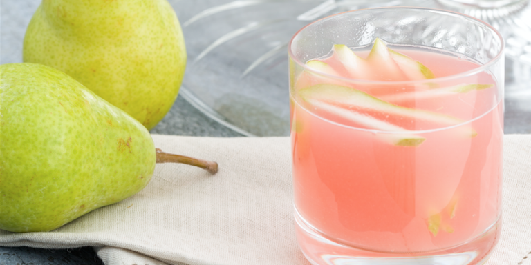 sparkling pear prosecco punch recipe