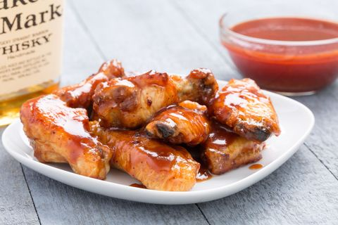 Best Slow Cooker Barbecue Bourbon Chicken Wings Recipe How To Make