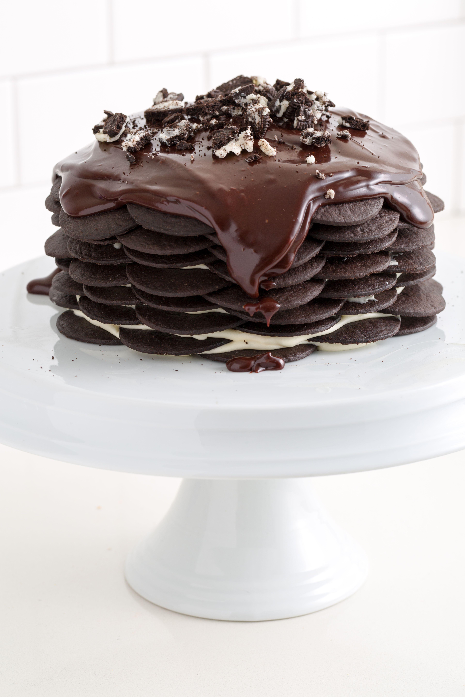 Black and White Cheesecake Icebox Cake