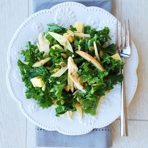 rotisserie chicken kale salad  delishcom