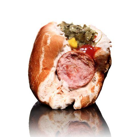 Food, Finger food, Cuisine, Peach, Ingredient, Orange, Meat, Fast food, Snack, Dish,