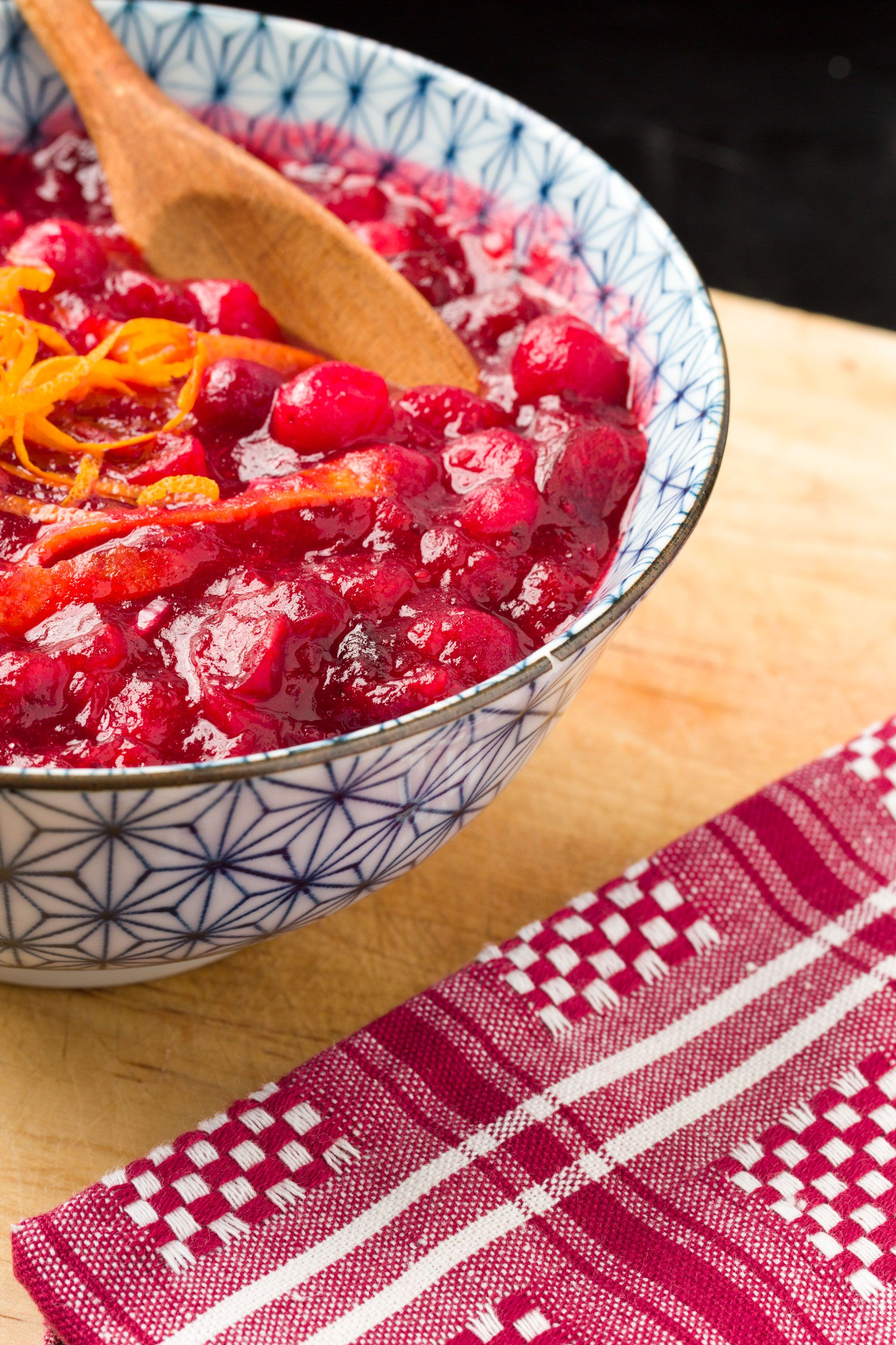 <p>Cranberry sauce might never be the scene stealer, but rather than serve it straight from the can, warm it in a saucepan with the zest of 1 orange and 1 tablespoon minced shallot for a surprising twist. <br></p>