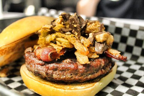 Food, Finger food, Cuisine, Ingredient, Dish, Breakfast, Recipe, Fast food, Meat, Sandwich,