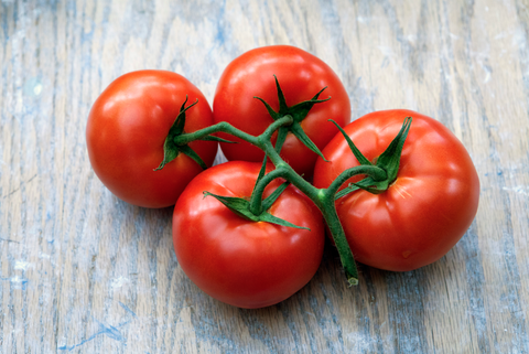 Vegan nutrition, Tomato, Produce, Vegetable, Local food, Whole food, Natural foods, Red, Bush tomato, Plum tomato,