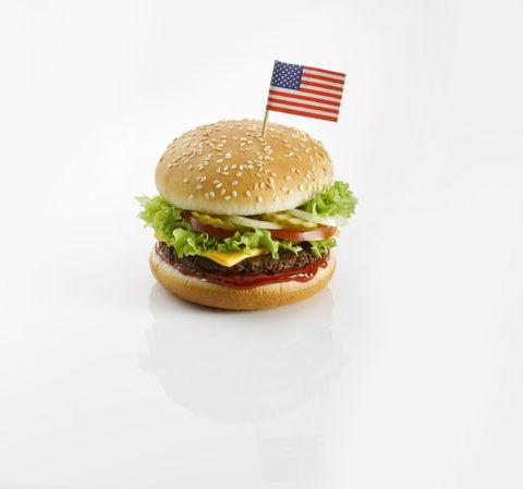 Food, Finger food, Sandwich, Cuisine, Produce, Vegetable, Ingredient, Leaf vegetable, Baked goods, Bun,