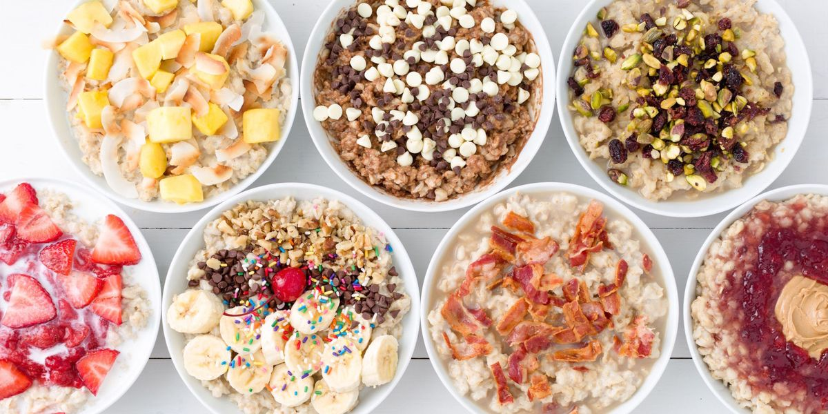 Dress Up Your Oatmeal!