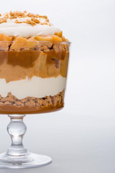 Dish, Food, Cuisine, Dessert, Trifle, Zuppa inglese, Ingredient, Frozen dessert, Parfait, Baked goods,