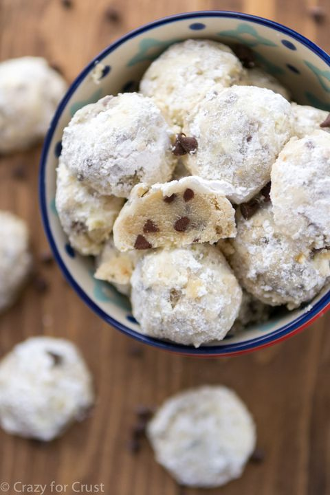 10 Best Snowball Cookies Recipes For No Bake Cookie Balls Delish Com