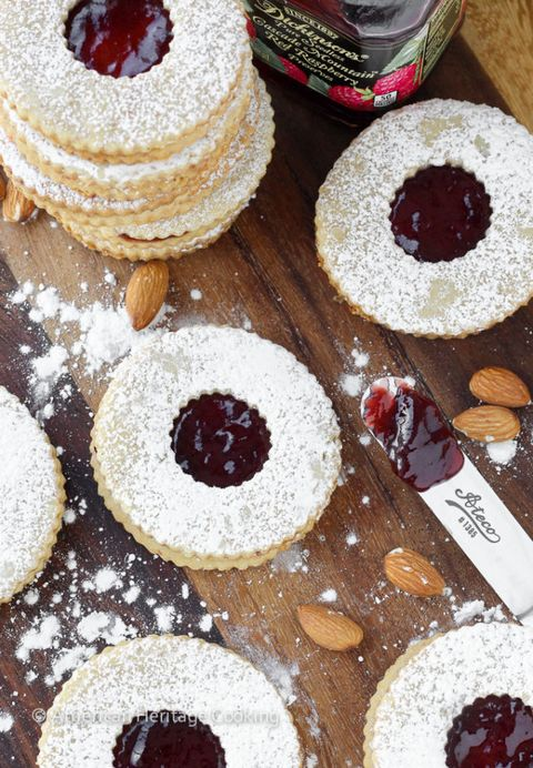 15 Easy Linzer Cookies Recipes For Homemade Linzer Cookie Ideas