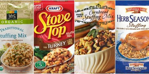 Boxed Stuffing Ranked Collage