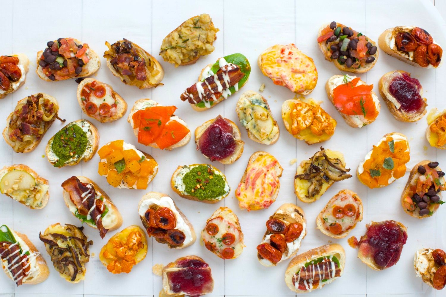 14 Crostini And Toppings Recipes Crostini Topping Ideas