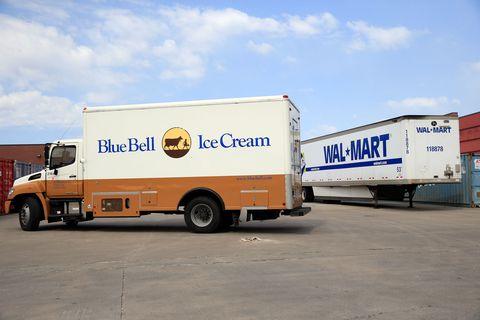 Blue Bell ice cream truck