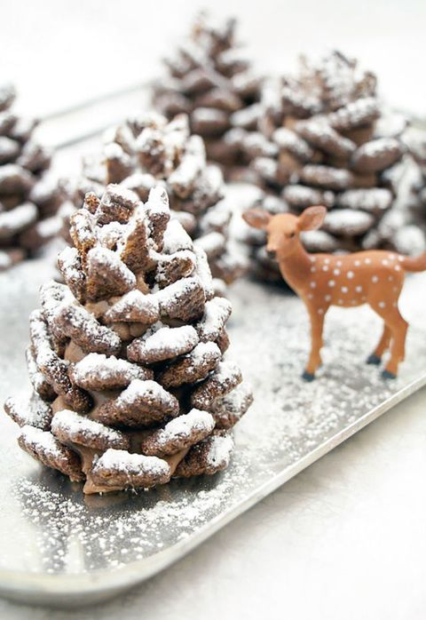 Edible pinecone decorations recipe how to make edible pinecones image ccuart Image collections