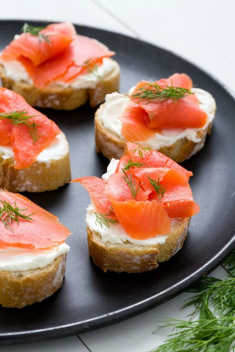 Dish, Food, Cuisine, Bruschetta, Smoked salmon, appetizer, Hors d'oeuvre, Ingredient, Canapé, Finger food,