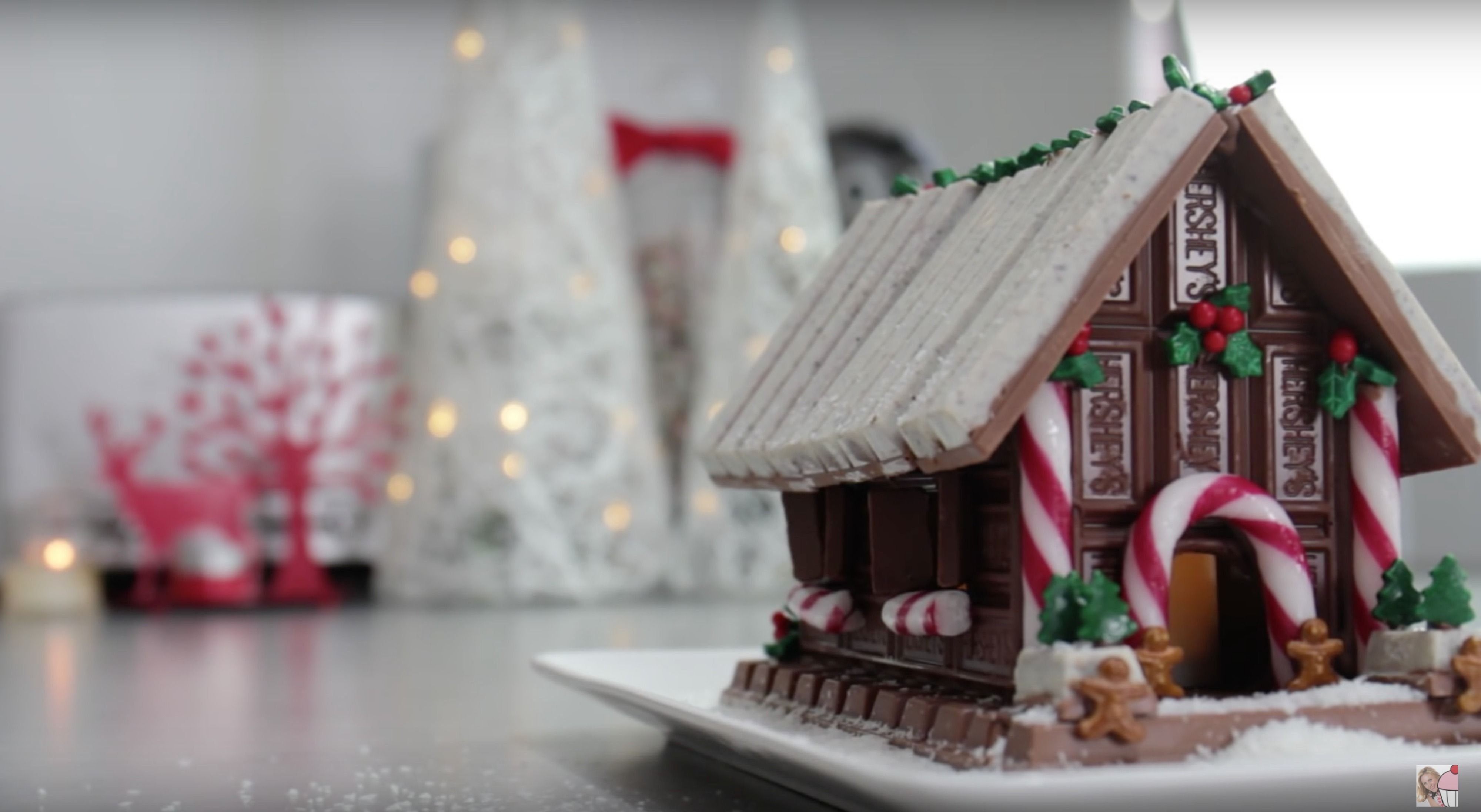 You\'ve Got To See This Kit Kat Gingerbread House