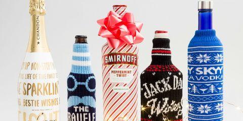 Holiday Alcohol Bottles