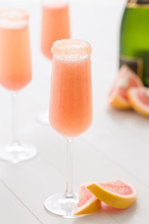 Drink, Juice, Food, Non-alcoholic beverage, Cocktail, Alcoholic beverage, Paloma, Bellini, Grapefruit, Ingredient,