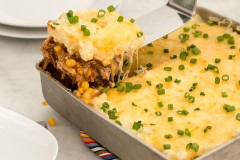 BBQ Shepherd's Pie