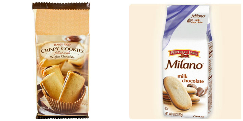 Did Trader Joe S Rip Off Pepperidge Farm S Milano Cookies Pepperidge Farm Sues Trader Joe S Over Cookie Copyright