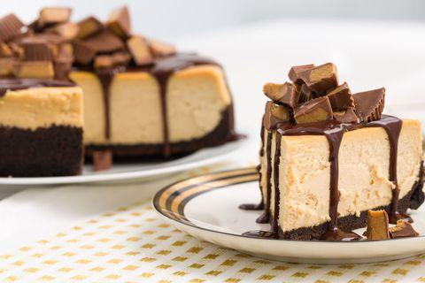 Chocolate-Peanut Butter Cheesecake