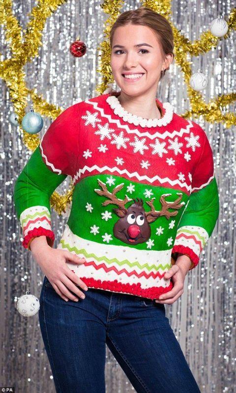 Really Ugly Christmas Sweater.Edible Christmas Sweater Delish Com